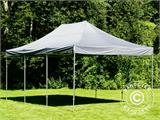 Pop up gazebo FleXtents PRO 4x6 m Grey, incl. 8 sidewalls - 16