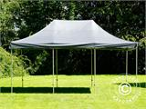 Pop up gazebo FleXtents PRO 4x6 m Grey, incl. 8 sidewalls - 18