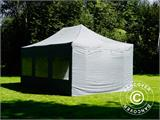Pop up gazebo FleXtents PRO 4x6 m Grey, incl. 8 sidewalls - 33