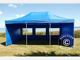 Tenda Dobrável FleXtents PRO 4x6m Azul, incl. 8 paredes laterais - 3