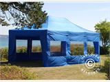 Tenda Dobrável FleXtents PRO 4x6m Azul, incl. 8 paredes laterais - 4