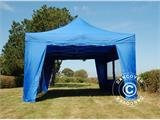 Tenda Dobrável FleXtents PRO 4x6m Azul, incl. 8 paredes laterais - 5
