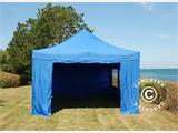 Tenda Dobrável FleXtents PRO 4x6m Azul, incl. 8 paredes laterais - 6