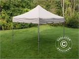"Vouwtent/Easy up tent FleXtents PRO ""Peaked"" 4x4m Latte - 2"