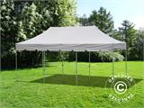 "Quick-up telt FleXtents PRO ""Peaked"" 4x6m Latte, inkl. 8 sider - 3"