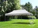 "Carpa plegable FleXtents PRO ""Peaked"" 4x8m Latte - 1"