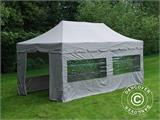 "Pop up gazebo FleXtents PRO ""Peaked"" 4x8 m Latte, incl. 6 sidewalls - 3"