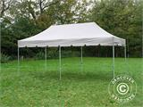 "Pop up gazebo FleXtents PRO ""Peaked"" 4x8 m Latte, incl. 6 sidewalls - 4"
