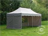 "Pop up gazebo FleXtents PRO ""Peaked"" 4x8 m Latte, incl. 6 sidewalls - 5"