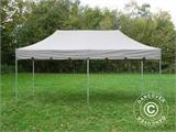 "Gazebo pieghevole FleXtents PRO ""Peaked"" 4x8m Latte, incl. 6 tendaggi decorativi - 4"