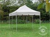 "Gazebo pieghevole FleXtents PRO ""Peaked"" 4x8m Latte, incl. 6 tendaggi decorativi - 7"