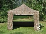 Pop up gazebo FleXtents Xtreme 50 4x4 m Camouflage/Military, incl. 4 sidewalls - 2