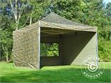 Pop up gazebo FleXtents Xtreme 50 4x4 m Camouflage/Military, incl. 4 sidewalls - 3