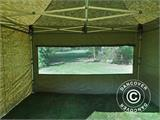 Pop up gazebo FleXtents Xtreme 50 4x4 m Camouflage/Military, incl. 4 sidewalls - 12