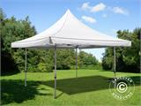 Carpa plegable FleXtents Pagoda Xtreme 3x3m / (4x4m) Blanco - 1