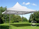 Carpa plegable FleXtents Pagoda Xtreme 3x3m / (4x4m) Blanco - 2