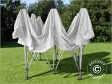 Carpa plegable FleXtents Pagoda Xtreme 3x3m / (4x4m) Blanco - 9