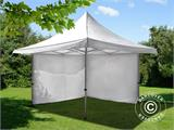 Pop up gazebo FleXtents Pagoda Xtreme 3x3 m / (4x4 m) White, incl. 4 sidewalls - 6