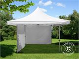 Pop up gazebo FleXtents Pagoda Xtreme 4x4 m / (5x5 m) White, incl. 4 sidewalls - 3