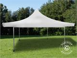 Pop up gazebo FleXtents Pagoda Xtreme 4x4 m / (5x5 m) White, incl. 4 sidewalls - 18