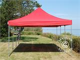 Carpa plegable FleXtents Xtreme 50 4x6m Rojo - 2
