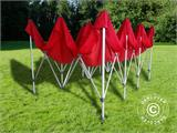 Carpa plegable FleXtents Xtreme 50 4x6m Rojo - 4