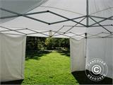 Quick-up telt FleXtents Xtreme 50 5x5m Hvit, inkl. 4 sider - 17