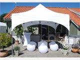 "Quick-up telt FleXtents PRO ""Arched"" 3x3m Hvit, inkl. 4 sider - 3"