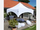 "Quick-up telt FleXtents PRO ""Arched"" 3x3m Hvit, inkl. 4 sider - 4"