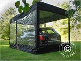 Folding garage FleX Carcover, 3x6 m, Black - 5