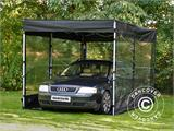 Folding garage FleX Carcover, 3x6 m, Black - 6