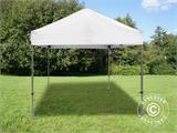 Pop up gazebo FleXtents Multi 2.83x2.97 m White, incl. 4 sidewalls - 2