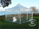 Vouwtent/Easy up tent FleXtents PRO 3x3m Doorzichtig, inkl. 4 Zijwanden - 4