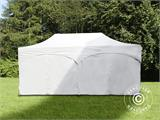 "Quick-up telt FleXtents PRO ""Arched"" 3x6m Hvit, inkl. 6 sider - 1"