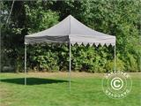 "Carpa plegable FleXtents PRO ""Morocco"" 3x3m Latte - 1"