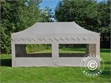 "Pop up gazebo FleXtents PRO ""Morocco"" 3x6 m Latte, incl. 6 sidewalls - 1"