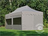 "Pop up gazebo FleXtents PRO ""Morocco"" 3x6 m Latte, incl. 6 sidewalls - 3"
