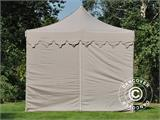 "Pop up gazebo FleXtents PRO ""Morocco"" 3x6 m Latte, incl. 6 sidewalls - 5"