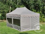 "Pop up gazebo FleXtents PRO ""Morocco"" 3x6 m Latte, incl. 6 sidewalls - 7"
