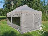 "Pop up gazebo FleXtents PRO ""Morocco"" 3x6 m Latte, incl. 6 sidewalls - 10"