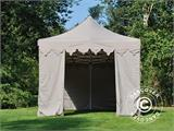 "Pop up gazebo FleXtents PRO ""Morocco"" 3x6 m Latte, incl. 6 sidewalls - 11"