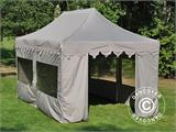 "Pop up gazebo FleXtents PRO ""Morocco"" 3x6 m Latte, incl. 6 sidewalls - 12"