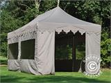 "Pop up gazebo FleXtents PRO ""Morocco"" 3x6 m Latte, incl. 6 sidewalls - 13"