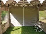 "Pop up gazebo FleXtents PRO ""Morocco"" 3x6 m Latte, incl. 6 sidewalls - 14"