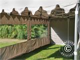 "Pop up gazebo FleXtents PRO ""Morocco"" 3x6 m Latte, incl. 6 sidewalls - 16"