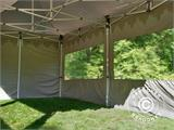 "Pop up gazebo FleXtents PRO ""Morocco"" 3x6 m Latte, incl. 6 sidewalls - 18"