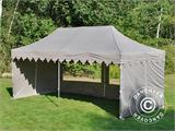 "Pop up gazebo FleXtents PRO ""Morocco"" 3x6 m Latte, incl. 6 sidewalls - 19"