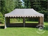 "Pop up gazebo FleXtents PRO ""Morocco"" 3x6 m Latte, incl. 6 sidewalls - 20"