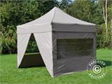 Pop up gazebo FleXtents PRO 3x3 m Latte, incl. 4 sidewalls - 1