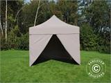 Pop up gazebo FleXtents PRO 3x3 m Latte, incl. 4 sidewalls - 14